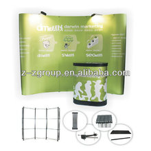 Advertising Graphic Flating Magnetic Pop up banner stand Pull-net exhibition