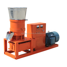 Ce Small Flat Die Wood Pellet Mill With Feeder, High Quality Small Wood Pellet Making Machine,Palm Wood Pellet Making Mach