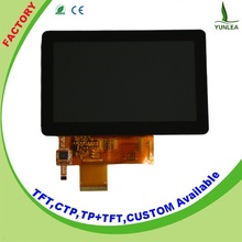 Medical flexible lcd display 5 inch multi Touch Screen Module