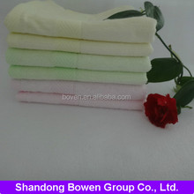 Good - quality bamboo fiber soft jacquard& dobby face towel