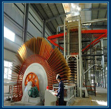 Production of Chipboard including Hot press Chipper Flaker Dryer Forming machine wood Sanding machine