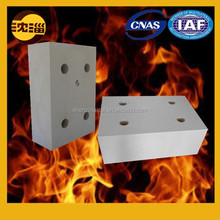 Refractory brick glass kiln tin bath bottom block perforated block manufacturer