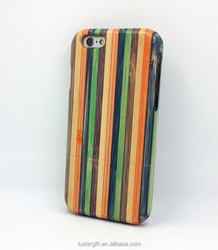 New arrival Luxury wood grain phone case for iPhone 6 skateboard wood case
