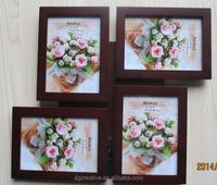 A designer wood decorative picture photo frame collage frame
