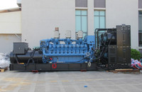 [GRANDNESS] Container MTU Genset 1250KVA diesel generator Germany MTU Diesel Generator Price List Power Plant 1 MW