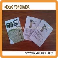 Top quality high security house door key card