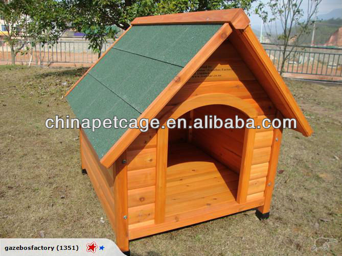 Hot sell HX-G-024 kennel bằng gỗ