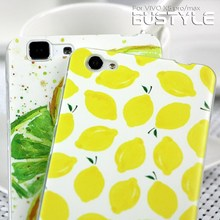 Factory supply summer lemon custom design soft tpu mobile phone cases for vivo x5pro max for any mobile you want