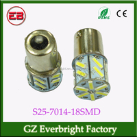 S25 7014 18SMD 18 Led 1156 led BA15S / 1157 led BAY15D car flashing led brake light