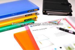 PP Color Clear File Folder wtih multi colors