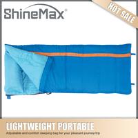 high quality inflatable waterproof down sleeping bag