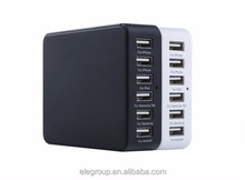 Hot seller 6 usb ports intelligent rapid charger smart charger for Mobile phone/Laptop/MP3/MP4 player/Tablet/Video game player
