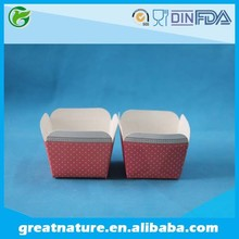 Square paper cake cups wholesale