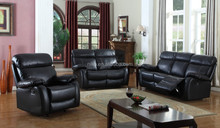 High-quality & Comfortable 3PC pu leather Recliner sofa set,sofa,loveseat,chair set,