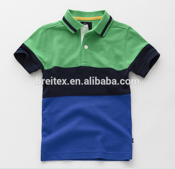 Wholesale Custom Design 100 Polyester Cotton Children T