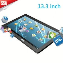 "13.3"" Big size Android touch panel advertising tablet tablet Picture+ music+ video"