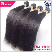 New arrival double drawn straight hair wholesale black hair products