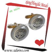 low cost metal brand cufflinks in bulk