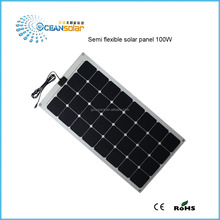 100W new energy fabric monocrystalline polycrystalline silicon flexible solar panel