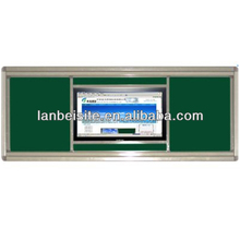 Electronic Whiteboard With projector and wall-mounted all-in-one PC