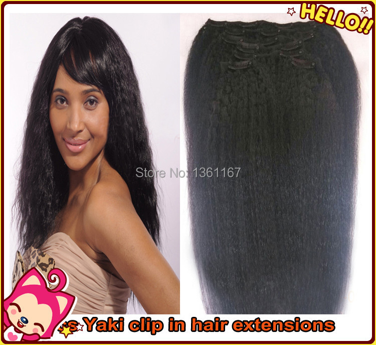 Clip in Extensions For Natural Black Hair Hair Extensions Clip in