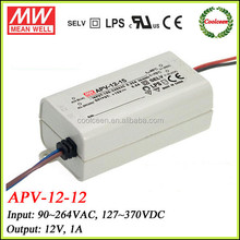 Meanwell constant current LED Driver APV-12-12