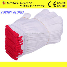 50g 10gauge best quality the lowest price safety working gloves,bleach cotton knitted For Construtions Bulk From China en388