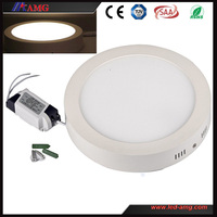 2015 New surface mounted led downlight round/square with SMD 2835/3580 warm white and aluminum