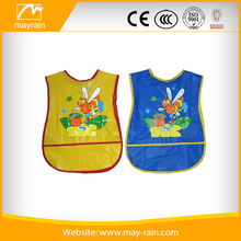 marvellous Cute Cartoon Baby Kids Painting Self Feeding Waterproof Bib Apron