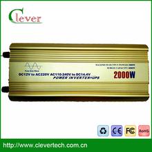 Factory price UPS transformer 2000w ups inverter ups inverter battery charger battery