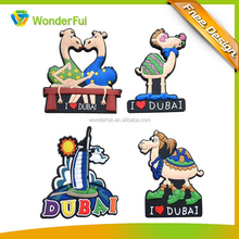 New Products Home Decoration Polyresin Magnet Type Mini Custom PVC Rubber Promotional Gift 3D Powerful Fridge Magnet
