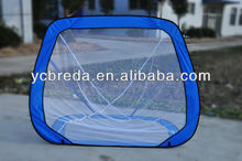 Pop-up practice baseball net, fodable baseball equipment