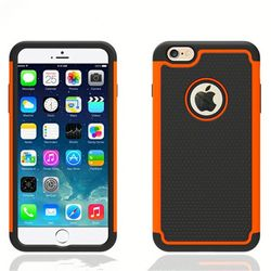 best selling hard case ball textured tow piece combo case for iphone 5s