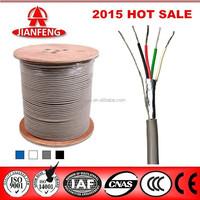 zhejiang jianfeng copper conductor Fire Alarm Cable with shielding