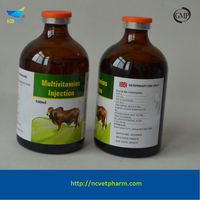 Vitamin B complex weight gain injection for veterinary 1%B1+0.1%B2