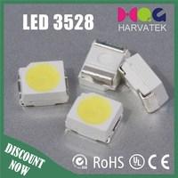 Harvatek Bright white 6000-7600k 3528 smd led specifications