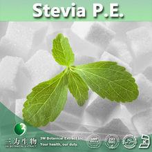 3W supply Stevia P.E. / Stevia Powder Extract / Stevia Leaf Extract