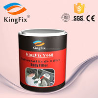 Light yellow polyester Putty for car repairing cars