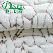 Hangzhou supplier rayon/poly yarn jacquard mattress quilted cloth/fabric for home textile