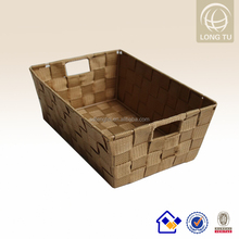 Lidl plastic woven large rectangular storage baskets extra large cotton laundry bag