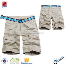 cargo shorts with belt for men