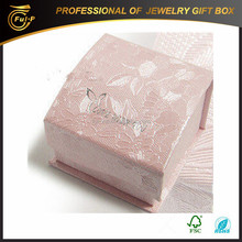 Fashion Style Low Price paper ring Jewelry Boxes, ring case