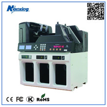 High Technology Super LCD Display Money Sorter Counter with 5 Pockets