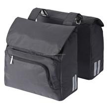 rear rack bag bicycle double rear pannier bag,folding bicycle bag