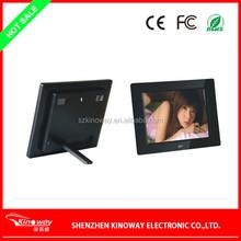 "Customize 7"" 8"" 10"" 12"" 15"" 17"" 22"" inch digital photo frame advertising promotion 8 Inch Gift Digital Photo Frame"