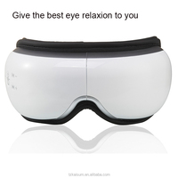 health electric alleviate fatigue eye care relax massager with music