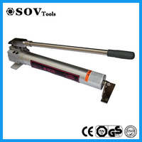 Low Price 3/8 NPT Two Speed Steel Hydraulic Hand Pump