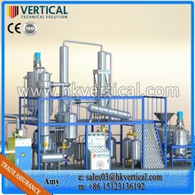 VTS-DP PLC Control Used Lubrication Oil Purification System