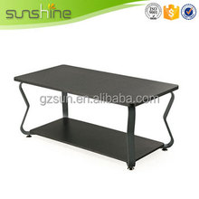 China gold manufacturer best quality plastic kid coffee table
