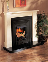 top quality hot selling antique granite fireplace surround!